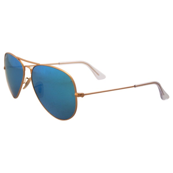 Ray Ban RB 3025 112/4L - Metal Gold Polarized - 58-14-135 mm Sunglasses