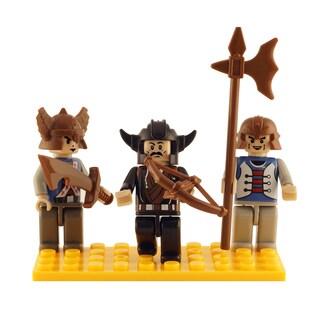 Brictek Castle 3 Mini-Figurine Set