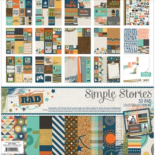 Simple Stories Collection Kit 12inX12inSo Rad