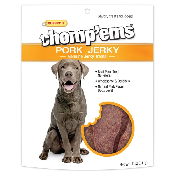 Chomp'ems Pork Jerky 11oz
