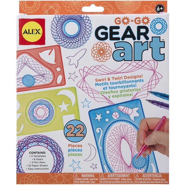 Go Go Gear Art Set