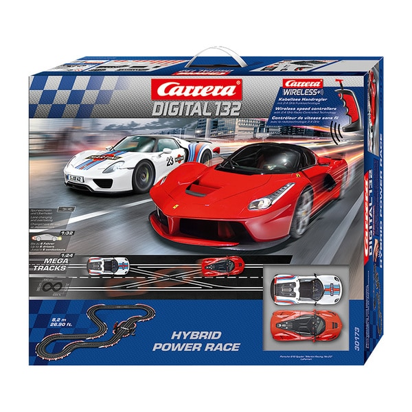 Carrera Hybrid Power Race Digital 1:32 Scale Slot Car Race Set