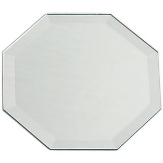 Octagon Glass Mirror W/Bevel Edge Bulk8in