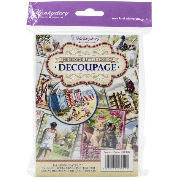 Hunkydory A6 Paper Pad 144/PkgThe Second Little Book Of Decoupage