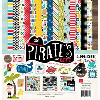 Echo Park Collection Kit 12inX12inPirates' Life