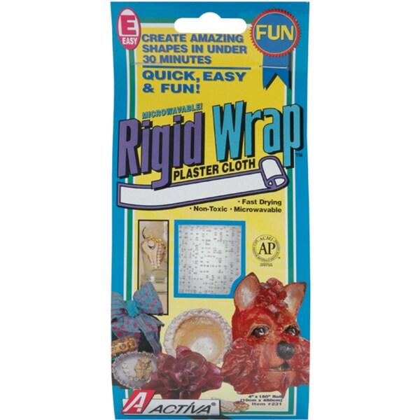 Rigid Wrap Plaster Cloth 4inX180in