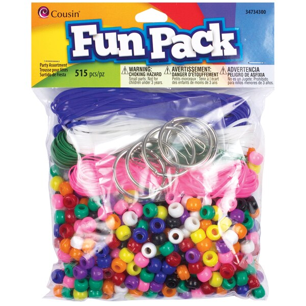 Fun Pack Party Assortment 515/PkgRainbow
