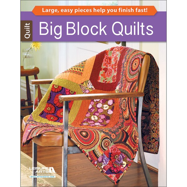Leisure ArtsBig Block Quilts