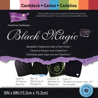 Core'dinations Black Magic Cardstock Pad 6inX6in 40/PkgHocus Pocus