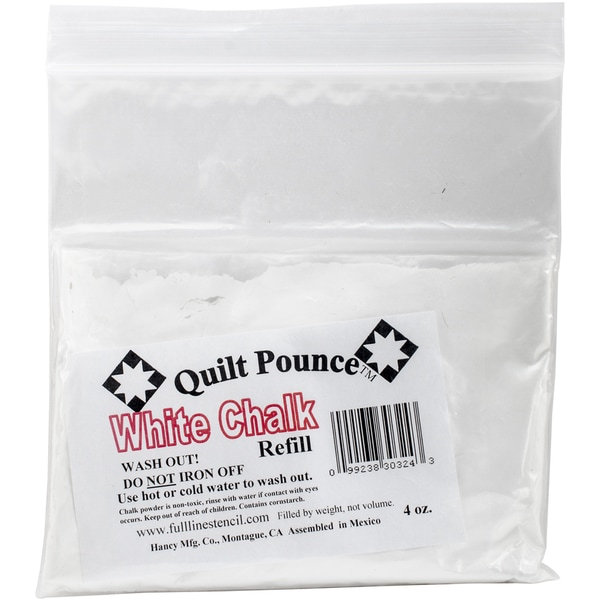 Quilt Pounce Chalk Refill 4oz White