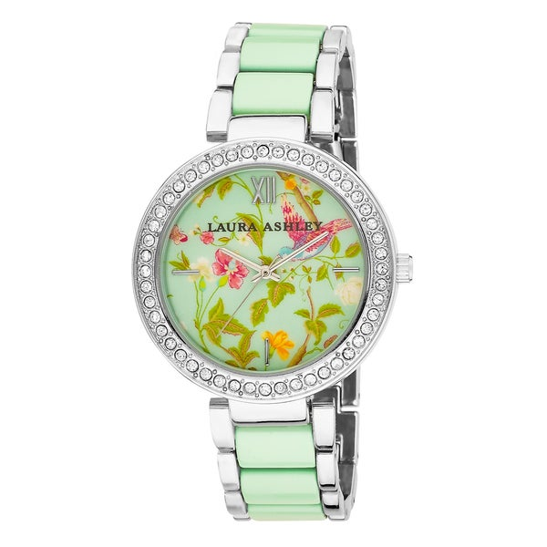 Laura Ashley Women's Summer Duck Egg Dial Watch