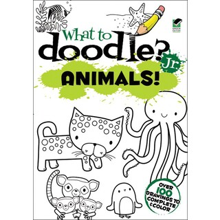Dover PublicationsWhat To Doodle? Jr. Animals!