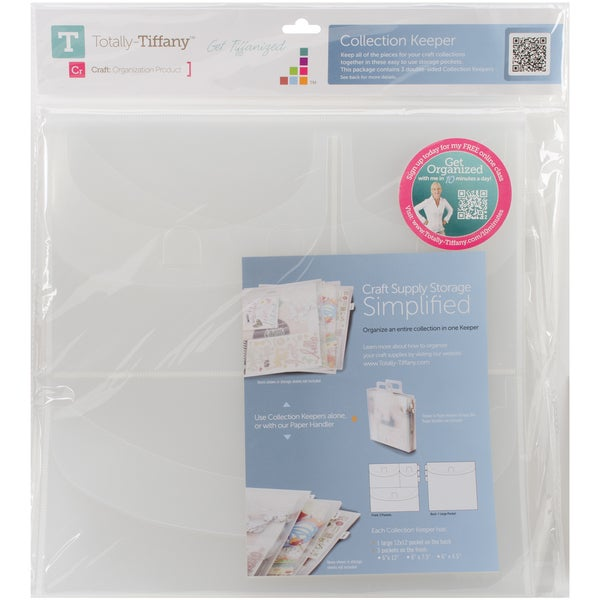 TotallyTiffany Collection Keeper 3/Pkg