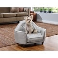 Enchanted Home Pet Sterling Headboard Pet Bed
