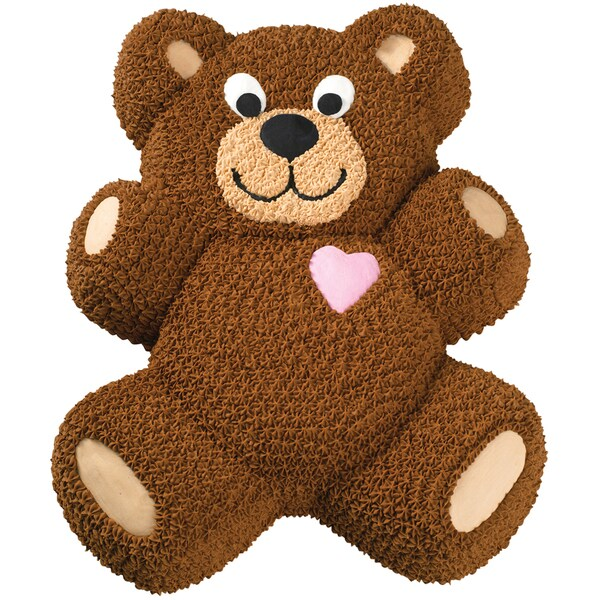 Novelty Cake PanTeddy Bear 13.5inX10.5inX2in 16228816