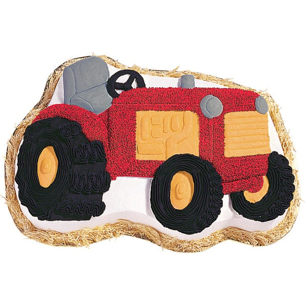 Novelty Cake PanTractor 13.5inX9.5inX2in 16228860