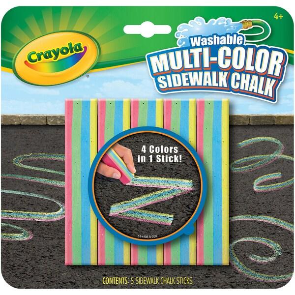 Crayola Sidewalk Chalk 5pcMulticolor