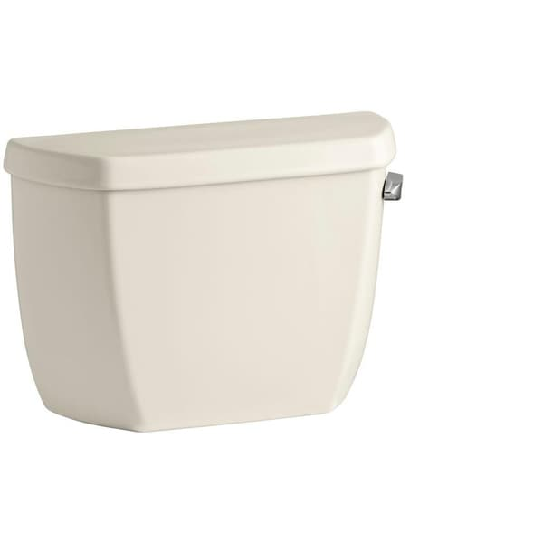 Kohler Wellworth Classic 1.28 GPF Toilet Tank Only in Almond