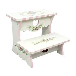Fantasy Fields Bouquet Step Stool