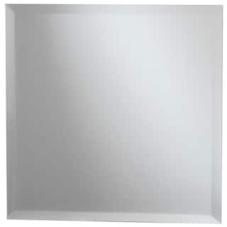 Square Glass Mirror W/Bevel Edge Bulk11.75in