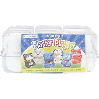 Plaster PlaysetCats & Dogs
