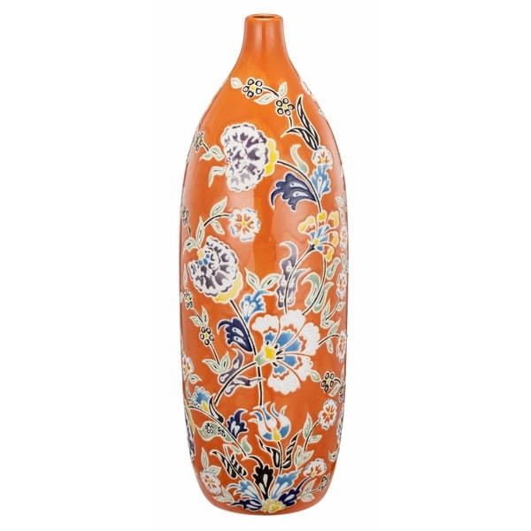 Kathy Ireland Home 15-inch Ceramic Vase