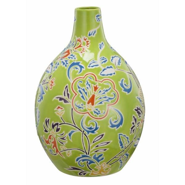 Kathy Ireland Home 7x7 Ceramic Vase