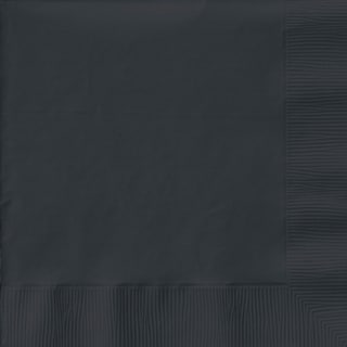 Big Party Pack Luncheon Napkins 6.5inX6.5in 125/PkgBlack