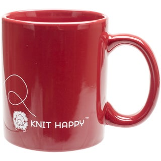God Family Knit Mug 12ozRed