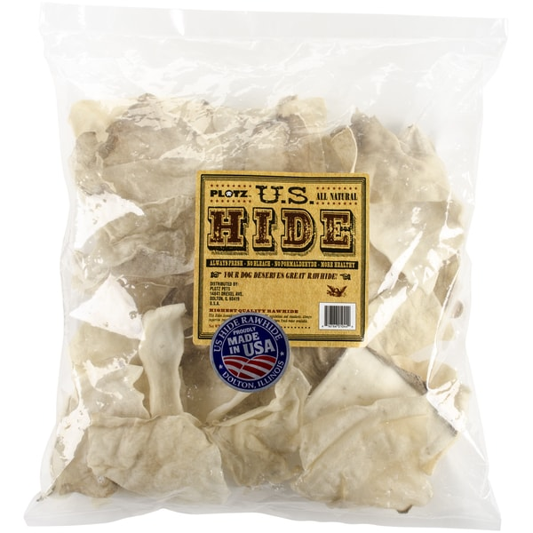 U.S. Hide Rawhide Chips 1lb Bag