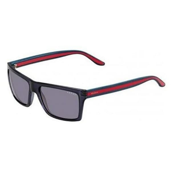 Gucci GG 1013/S Grey Gradient Lenses Blue/Red Frame Sunglasses