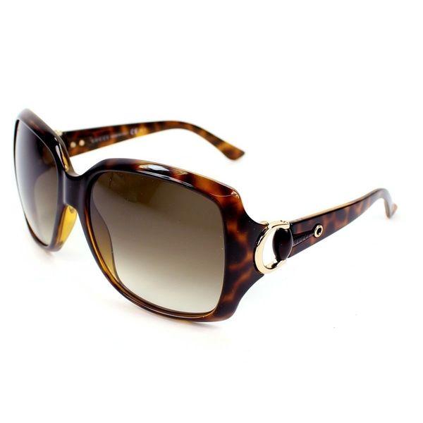 Gucci GG 3609/S Brown Lenses Tortoise Frame Sunglasses