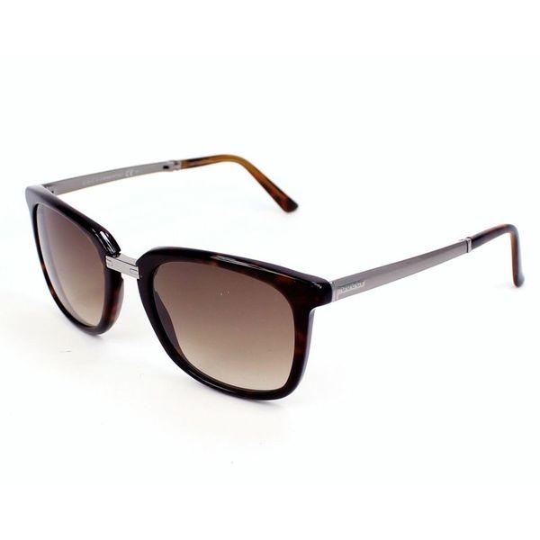 Brown Gradient Lenses Tortoise/Silver-Tone Frame Sunglasses - Gucci 0WK 52CC