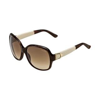 Gucci GG 3638/S Brown Gradient Lenses Tortoise/White Frame Sunglasses