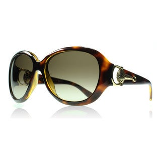 Gucci GG 3712/S Brown Gradient Lenses Tortoise Frame Sunglasses
