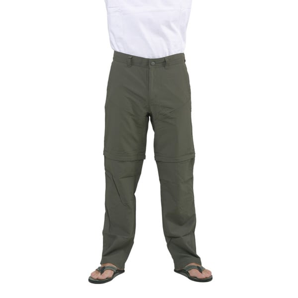 The North Face Men's New Taupe Green Horizon Convertible Pants (Regular)