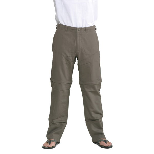 The North Face Men's Weimaraner Brown Horizon Convertible Pants (Regular)