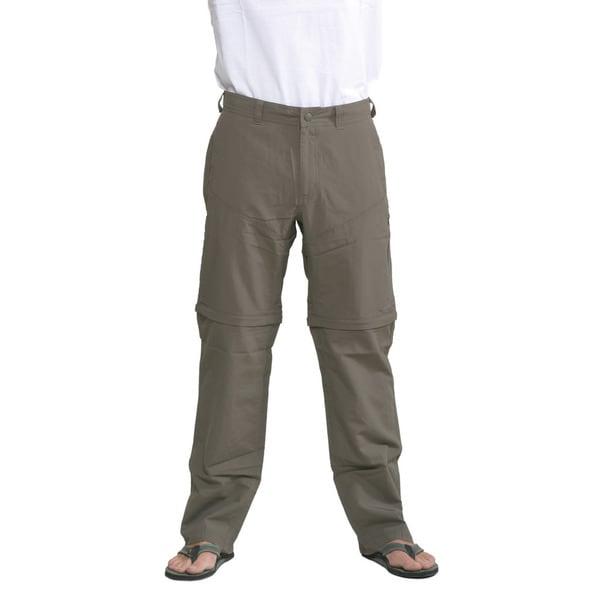 The North Face Men's Weimaraner Brown Horizon Convertible Pants (Regular)