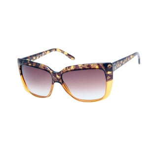 Gucci GG 3585/S Brown Gradient-Lens Brown / Honey Frame Sunglasses