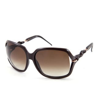 Gucci GG 3584/S Brown Gradient Lenses Brown / Gold Frame Sunglasses