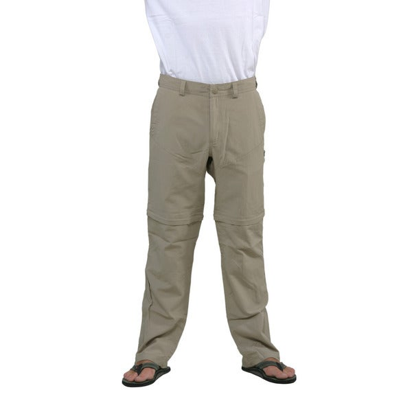 The North Face Men's Dune Beige Horizon Convertible Pants (Regular)