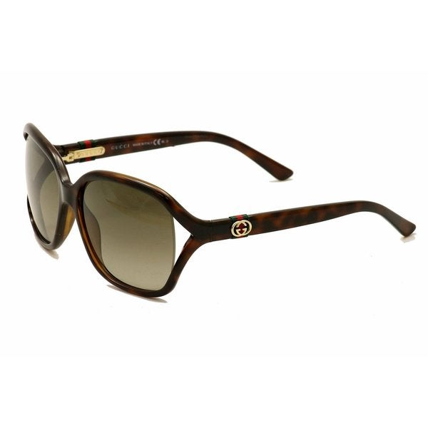Gucci GG 3646/S Brown Gradient Lenses Tortoise Frame Sunglasses