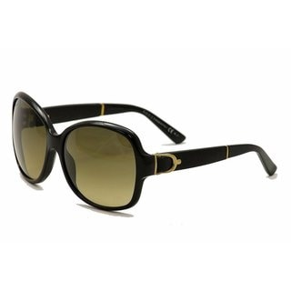 Gucci GG 3638/S Brown Gradient Lenses Black Frame Sunglasses