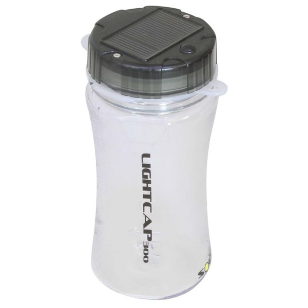 Davis LightCap 300 Solar Lantern Water Bottle Smoke
