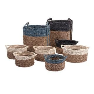 Bennet Woven Baskets (Set of 8)