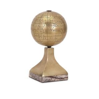 Beth Kushnick Globe w/ Stone Stand