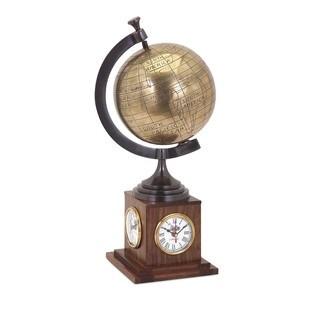 Beth Kushnick Clock Globe