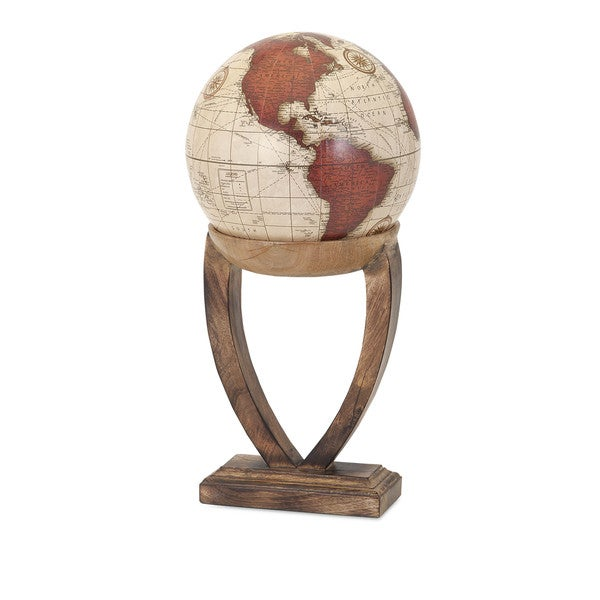 Merrin Globe with Wood Base - Large 16237609
