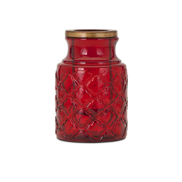 Mirren Medium Glass Lantern