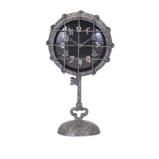 Ella Elaine Metal Pedestal Clock